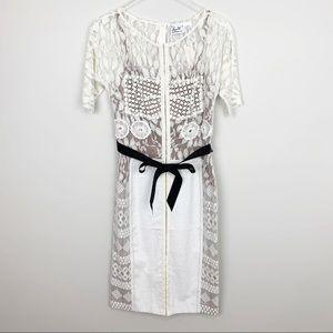 Anthropologie | Carissima Sheath Dress Byron Lars